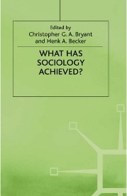 What has sociology achieved?
